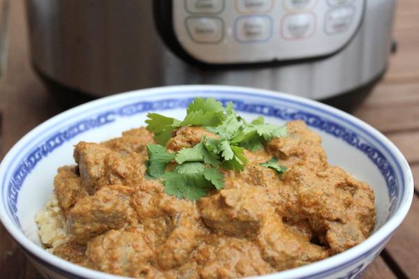 Instant Pot Lamb Rogan Josh (Lamb Curry)