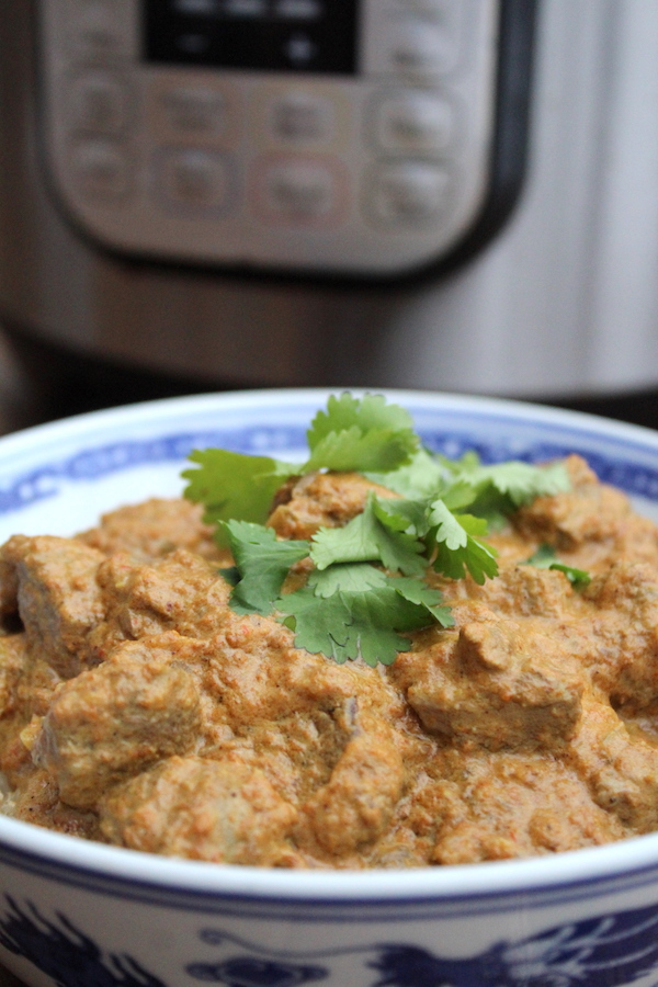 Instant Pot Lamb Rogan Josh ~ Savory Lamb Curry in the Pressure Cooker