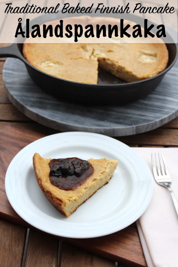 Traditional Baked Finnish Pancake (Ålandspannkaka)