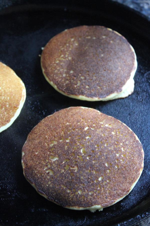 Cooking Almond Flour Pancakes
