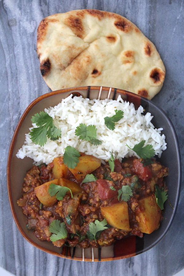 Keema Aloo Lamb Curry with Potatoes