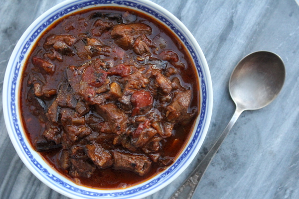 Lebanese Lamb Stew with Eggplant