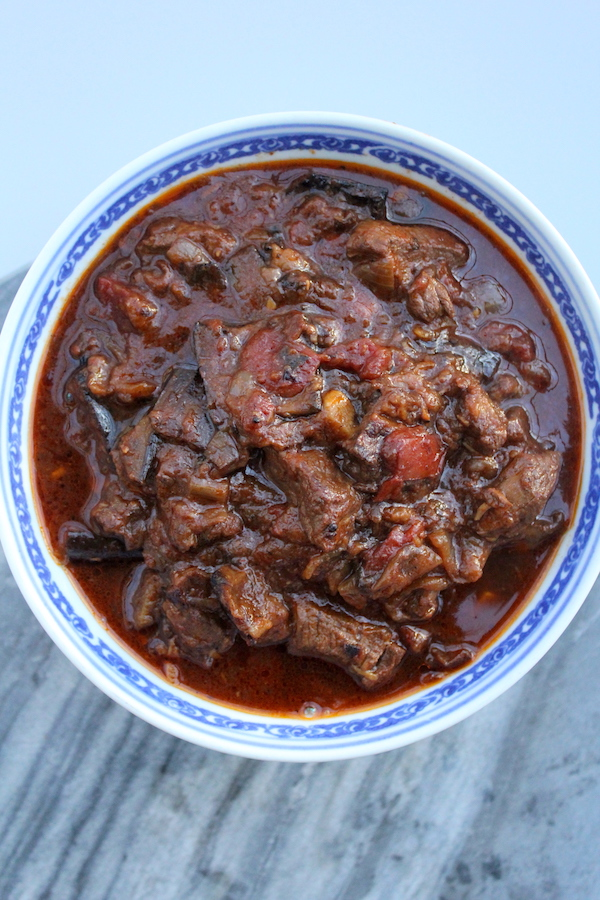 Lebanese Lamb and Eggplant Stew