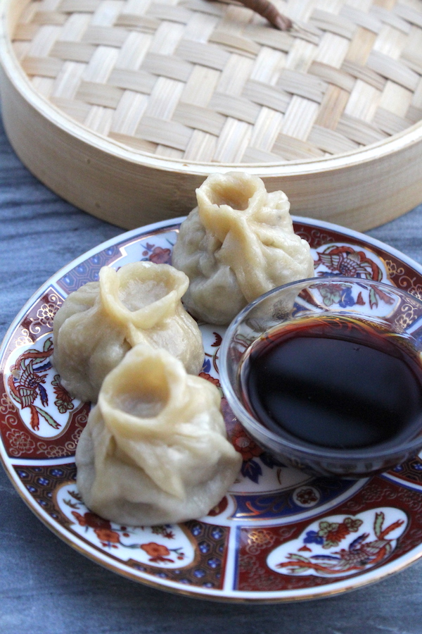 Homemade Mongolian Buuz (Steamed Meat Dumplings)