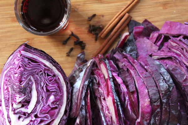 Rodkal Braised Red Cabbage Ingredients