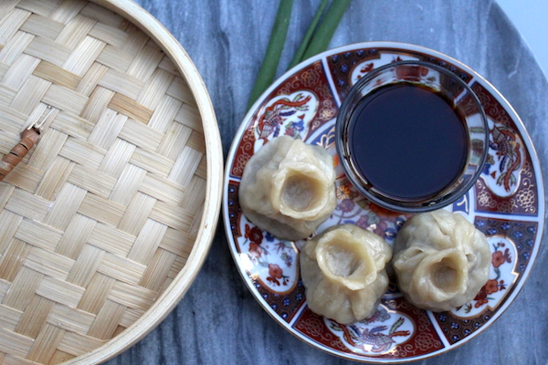 Buuz ~ Mongolian Steamed Dumplings
