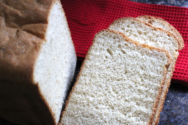 Homemade Bread Machine White Bread