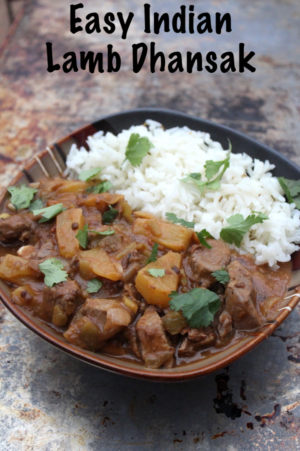 Indian Lamb Dhansak