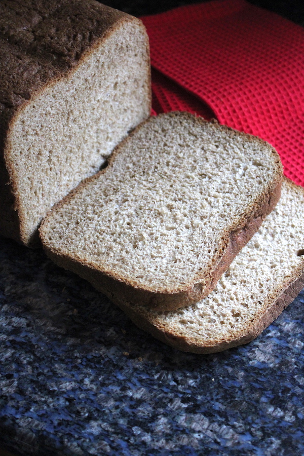 Homemade Bread Machine Whole Wheat Bread