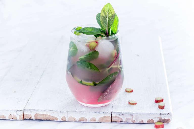 Rhubarb Mojito
