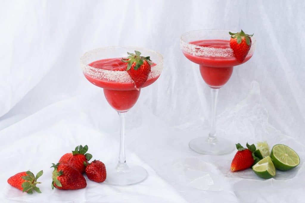 Strawberry Rhubarb Margarita