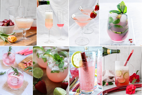 Creative Rhubarb Cocktails