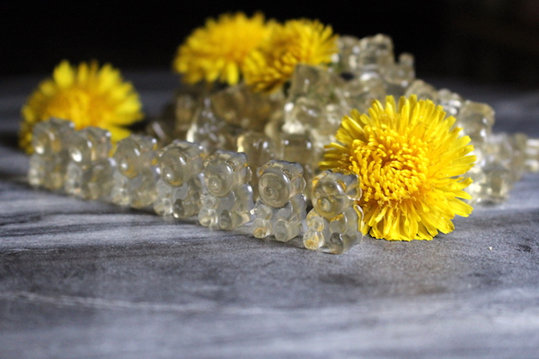 Dandelion & Honey Gummy Bears