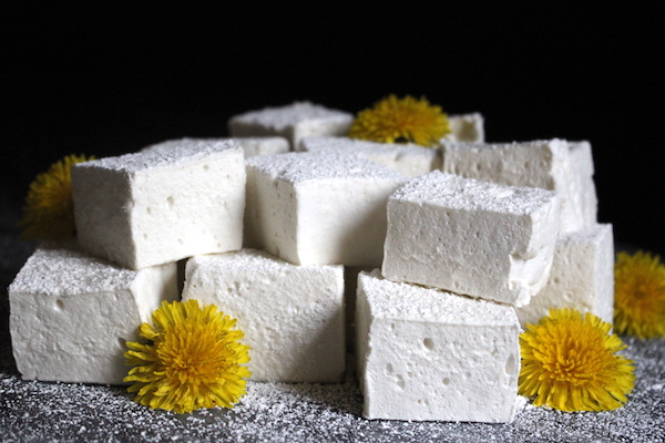 Dandelion & Honey Marshmallows (No Corn Syrup!)