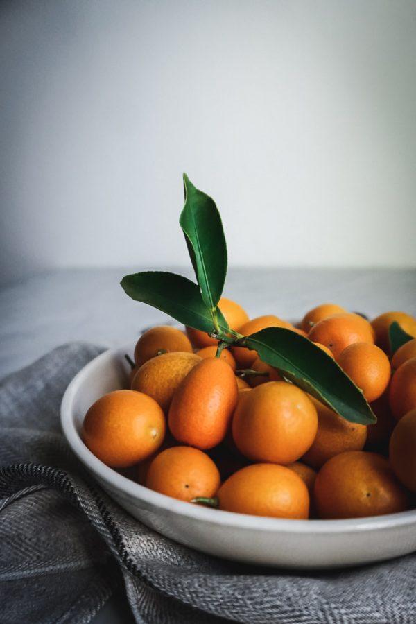 Bowl of kumquats
