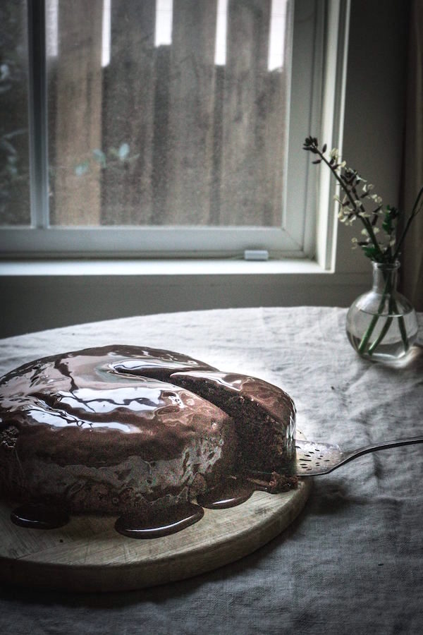 Chocolate Beetroot Cake (or Red Velvet Cake Made without Food Coloring)