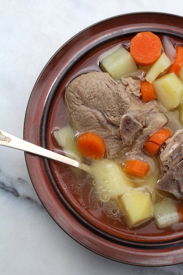 Kjötsúpa (Icelandic Lamb Soup) ~ A slow braised simple soup that's really satisfying comfort food.