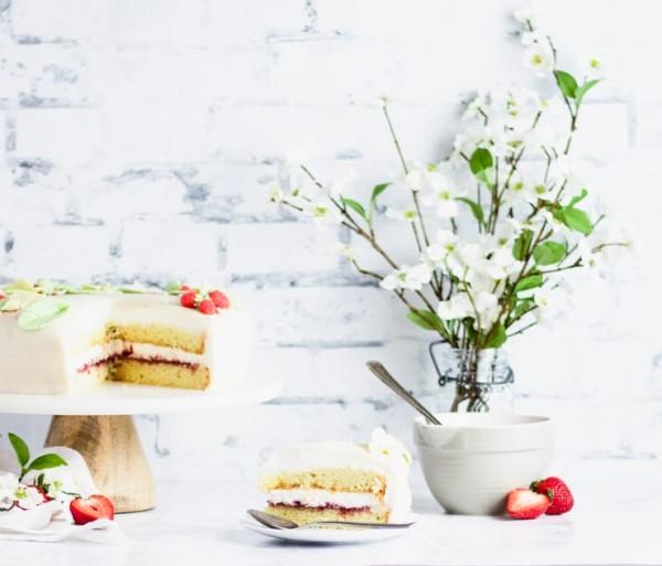 Norwegian Marzipan Cake