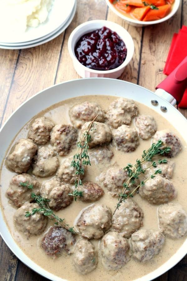 orwegian Kjøttkaker Meatballs