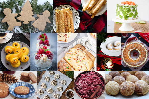 Scandinavian Holiday Collage