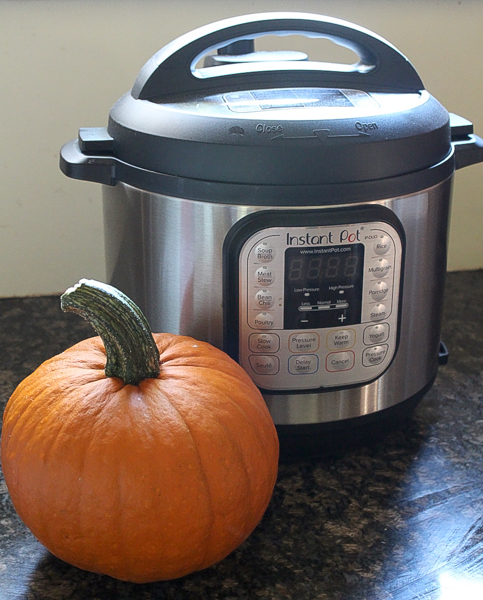 cooking a pumpkin in an instant pot