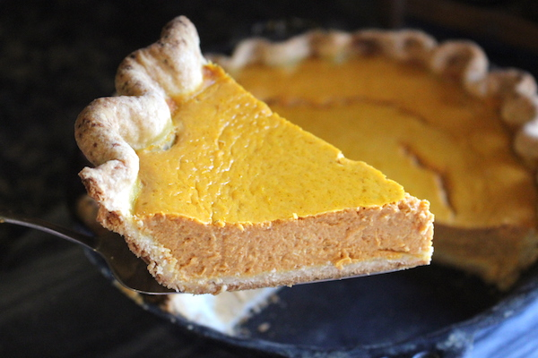 Old Fashioned Maple Pumpkin Pie (Without Evaporated Milk)