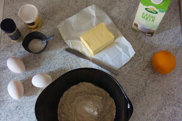 Æbleskiver Ingredients