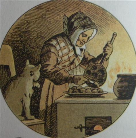 Æbleskiver image from 1889