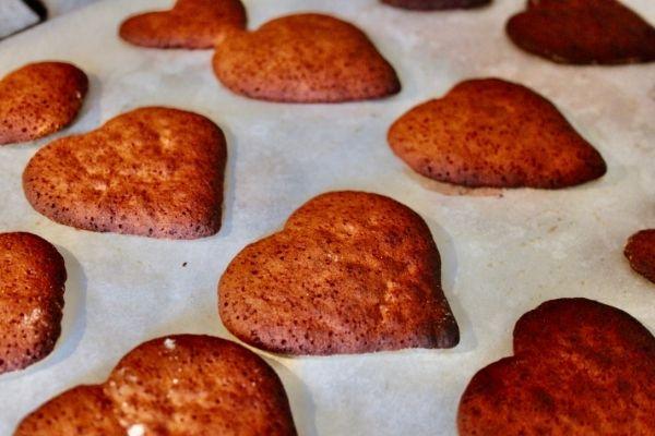 Baked Honninghjerter