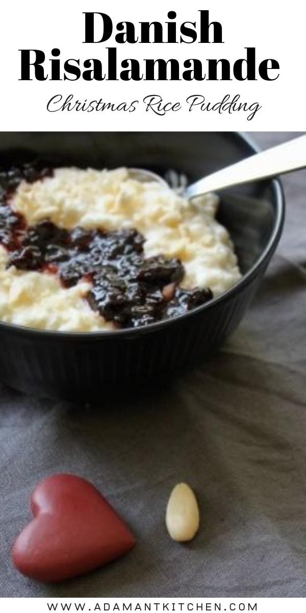Danish Risalamande ~ Christmas Rice Pudding with a Hidden Almond