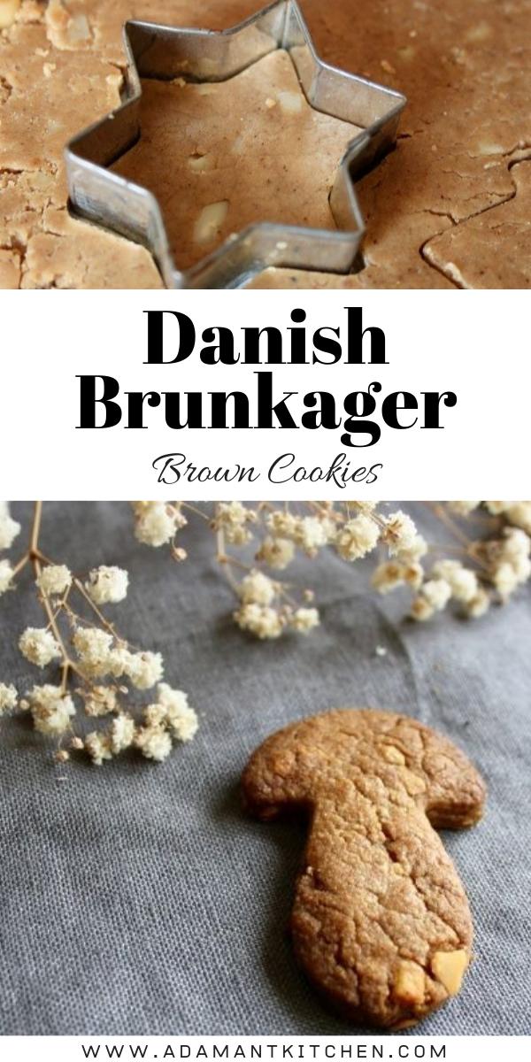 Danish Brown Cookies Brunkager