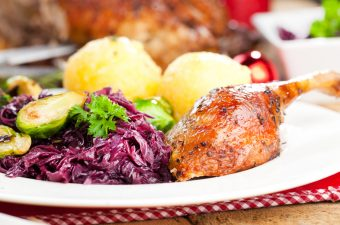 Danish Christmas Roast Duck