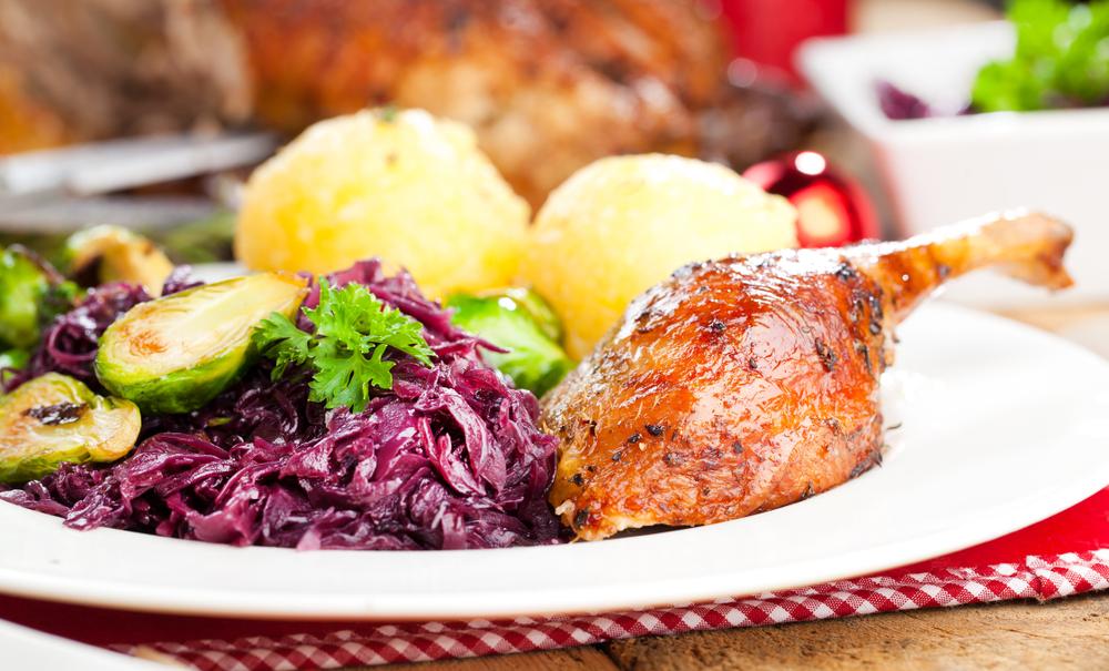 Danish Christmas Roast Duck