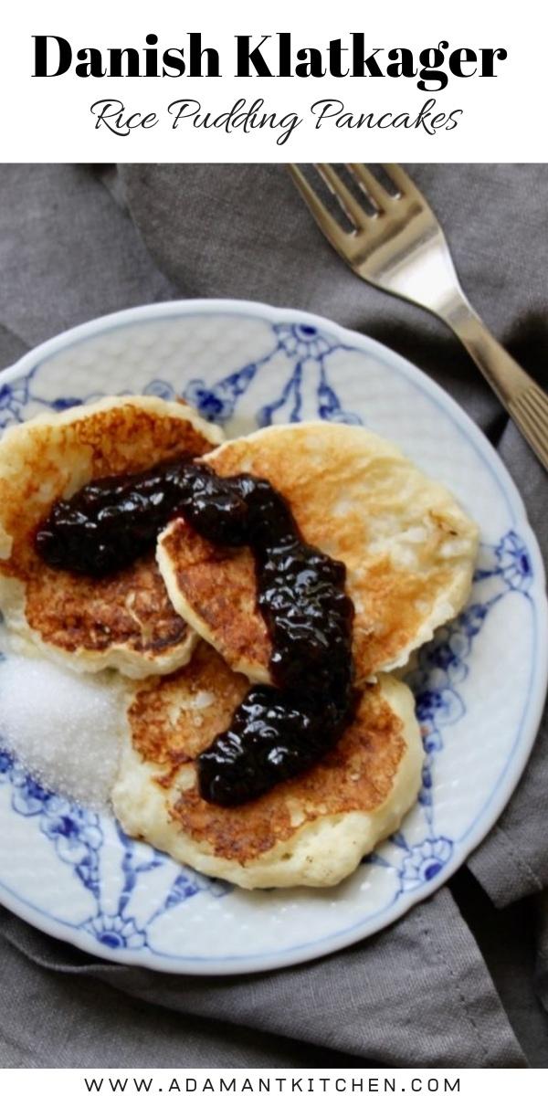 Danish Kladkager Rice Pudding Pancakes