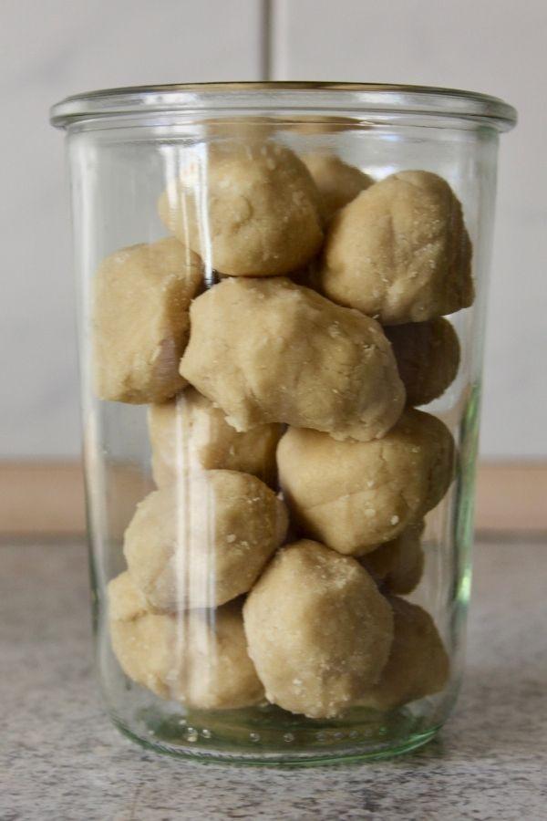 Honninghjerter Pre Dough